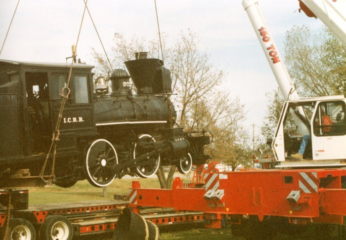 Locomotive Museum move
